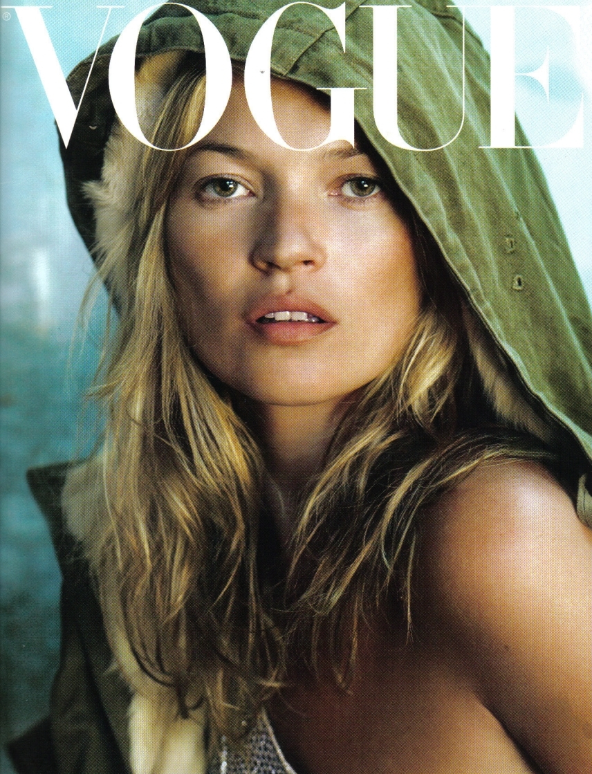 Kate moss vogue icin sophie lo