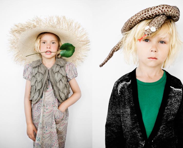 Ilkbaharda çocuklar rengârenk