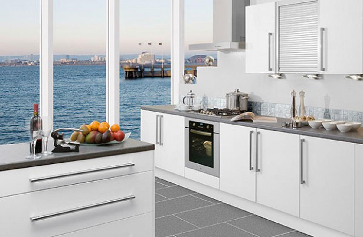 Design Ideas For White Kitchens: Aydınlık, Sade Ve Ferah; Beyaz Mutfaklar!