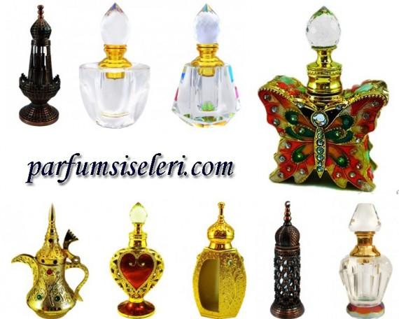 Sultanlara layık parfüm şişeleri!