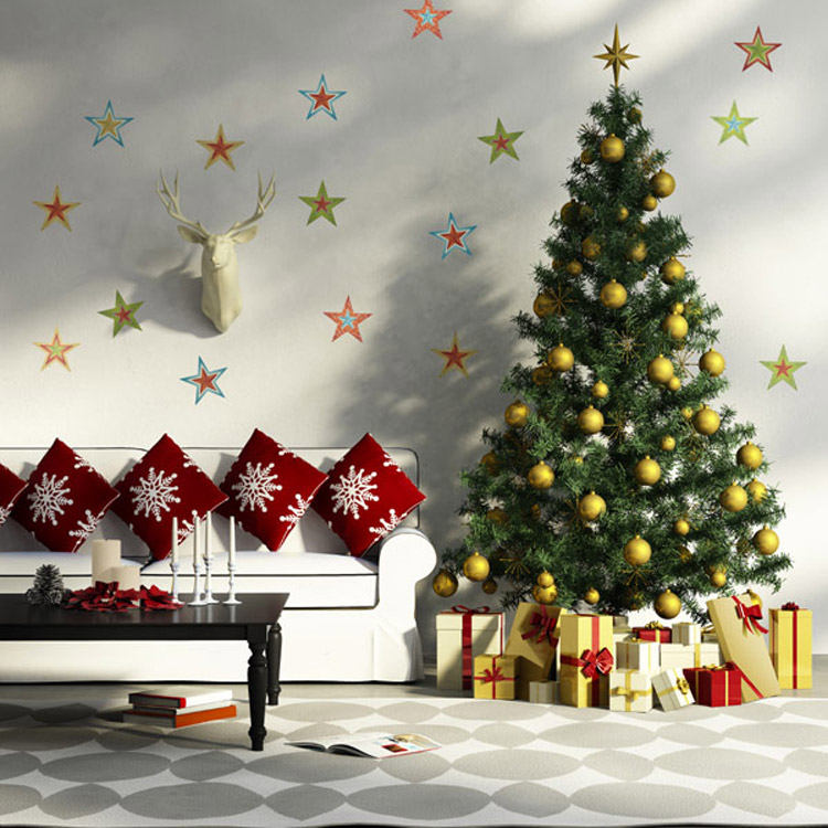 Evimizin duvarlar na y lba geliyor al veri Decorating for christmas 2014